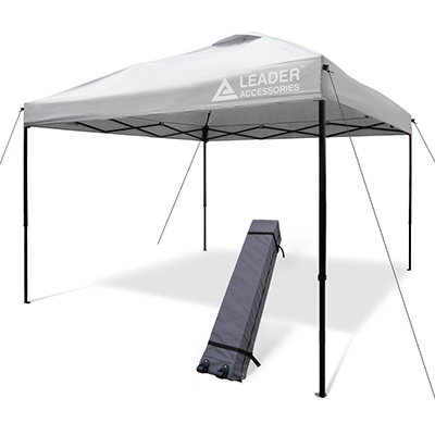 Leader Accessories Instant Canopy, 10' x 10' Pop-Up Canopy
