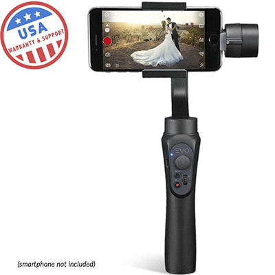 EVO Gimbals 3 Axis Handheld Gimbal for iPhone and Android Smartphones