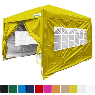 Quictent Silvox 10x10 EZ Pop up Tent Instant Canopy