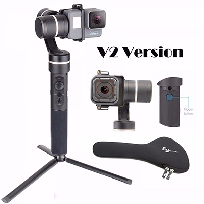 Feiyu G5 V2 Updated 3 Axis Splash Proof Handheld Gimbal for GoPro
