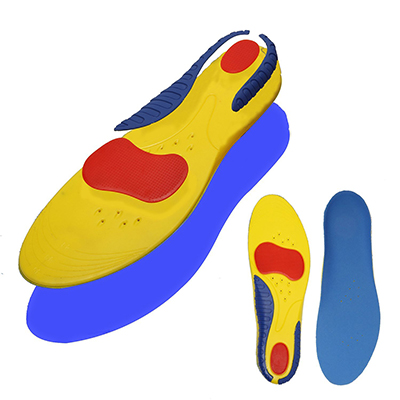 Kingsfeet Shoe Inserts Orthotics for Plantar Fasciitis, Sports Shock Absorption Shoe Insoles for Men
