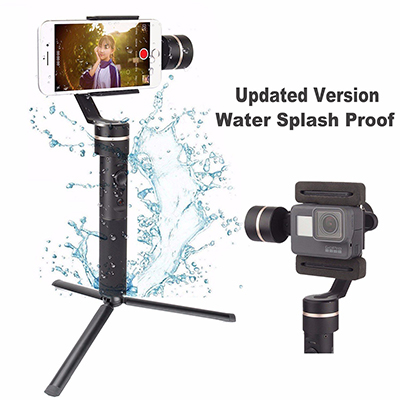 Feiyu SPG Splash-Proof Design 3 Axis Handheld Stabilizer, Upgraded version for smartphones