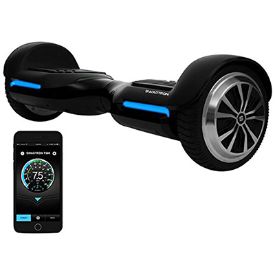 Swagtron App-Enabled T580 Bluetooth Speakers electric Hoverboard