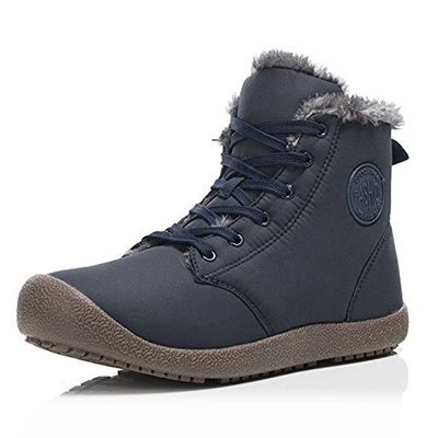 FLARUT Men's Women Snow Boots