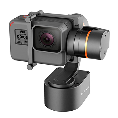 Hohem 3-Axis Wearable Gimbal Stabilizer for Action Camera GoPro Hero 5