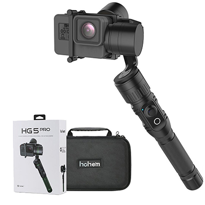 Hohem Handheld 3-Axis Gimbal Stabilizer Support APP Wireless Remote Control for GoPro