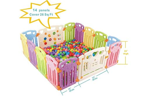 Baby Playpen Kids Activity Centre Safety Play Yard Home