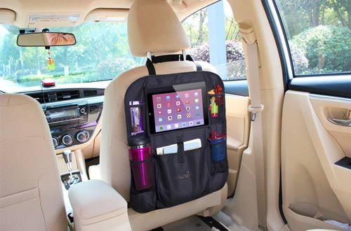 Mom's Besty Luxury Car Back Seat Organizer