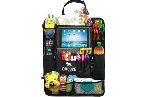DMoose Car Backseat Organizers for Kids and Toddlers