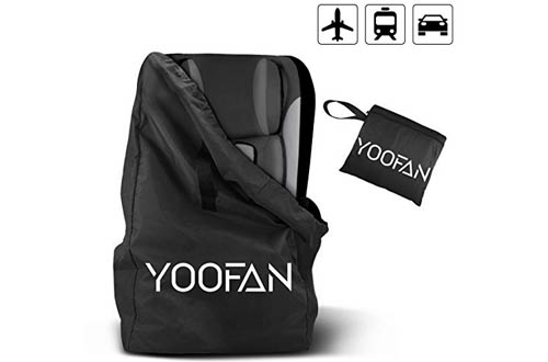 YOOFAN Gate Check Travel Bag with Backpack Shoulder Straps