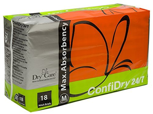 ConfiDry 24/7 Dry Care Max Absorbency Adult