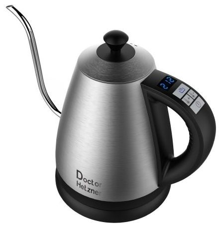 Electric Gooseneck Kettle with Preset