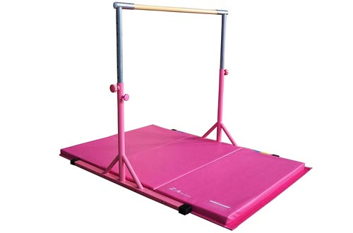 Z-Athletic Expandable Kip Bar & Mat Packages