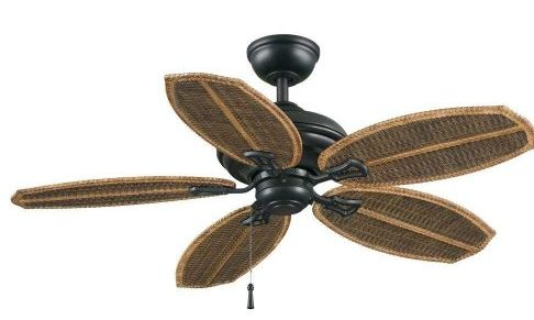 Palm Beach II 48 in. Outdoor Natural Iron Ceiling Fan Natural Iron-Ceiling Fans