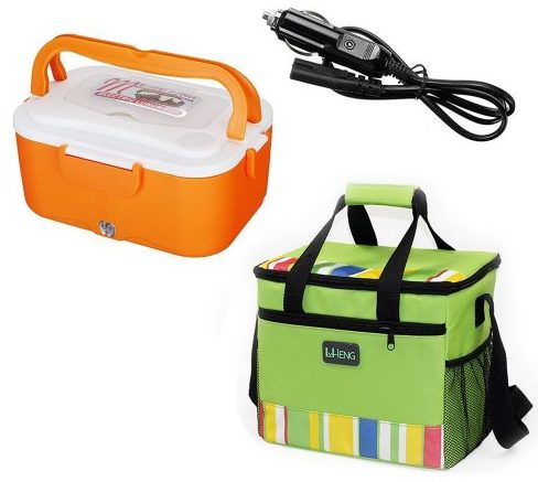 Portable Heater Lunch Box