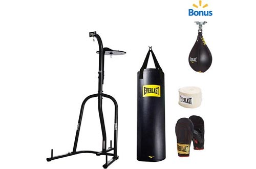 verlast Dual Station Heavy Bag Stand