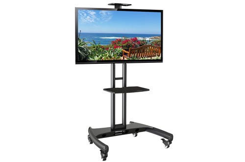 Mobile Rolling TV Cart Stand