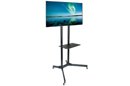 Mount Mobile TV Stand with Wheels