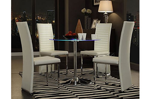 Home Creek Elysium LED Dining Table