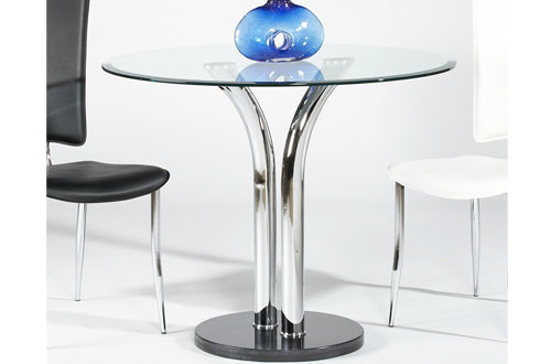 Top 10 Best Kitchen Round Glass Dining Tables In 2019 ...