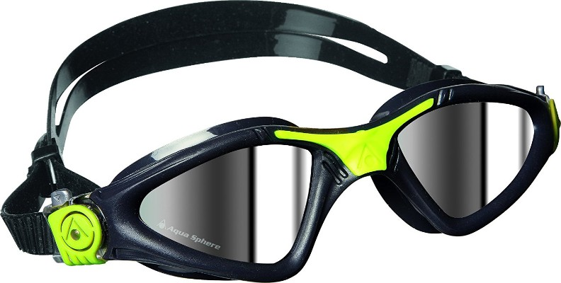 Aqua Sphere Kayenne Swim Goggle, Made in Italy