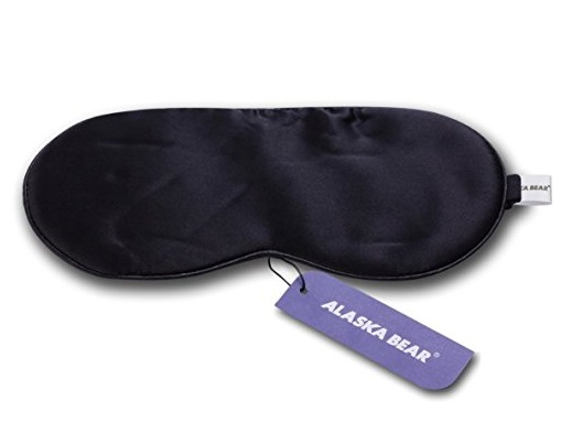 1. ALASKA BEAR® Natural silk sleep mask & blindfold- Best Sleeping Masks