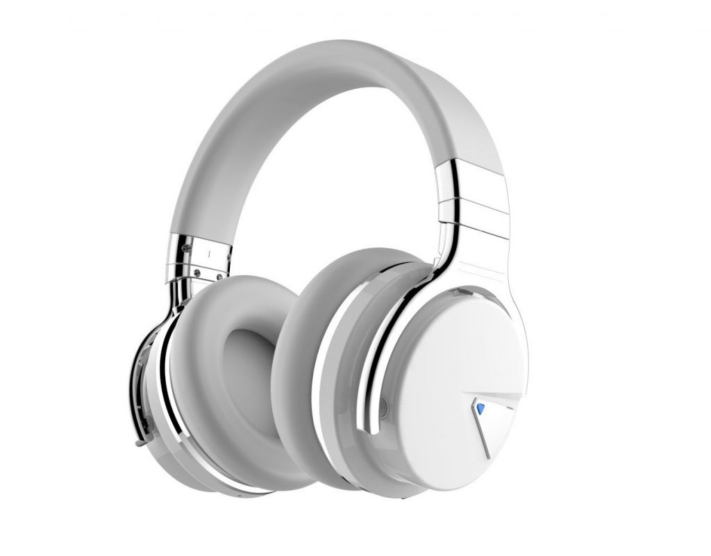 1. COWIN E7 Active Noise Cancelling Bluetooth Headphones with Microphone Deep Bass Wireless Headphones Over Ear
