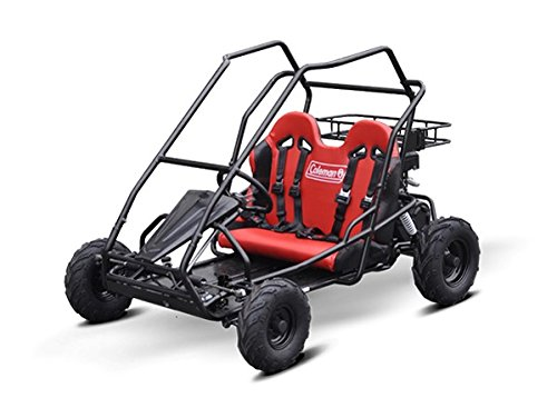 1. Coleman Powersports KT196 Gas Powered Off-Road Go Kart