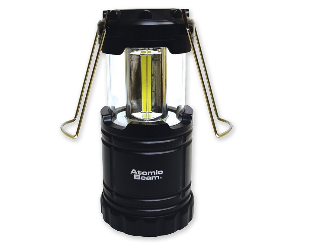 10. Atomic Beam Lantern by Bulbhead, Bright 360-Degree, Collapsible LED Lantern for Emergencies & Camping