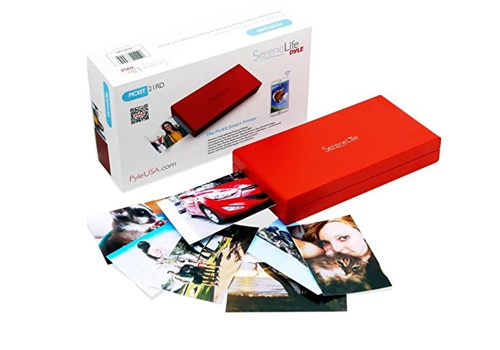 10. SereneLife - iPhone Photo Printer - Portable Instant