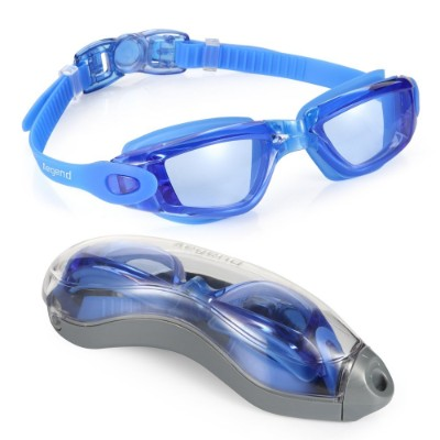 Aegend Swim Goggles, Swimming Goggles No Leaking Anti Fog UV Protection Triathlon Swim Goggles