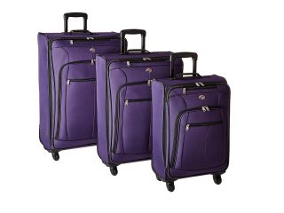 2. American Tourister At Pops Plus 3 Piece Nested Set, Purple, One Size