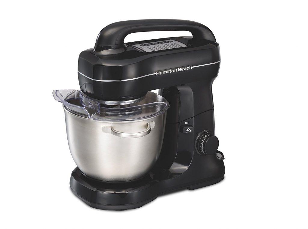 2. Hamilton Beach 63391 Stand Mixer, Black