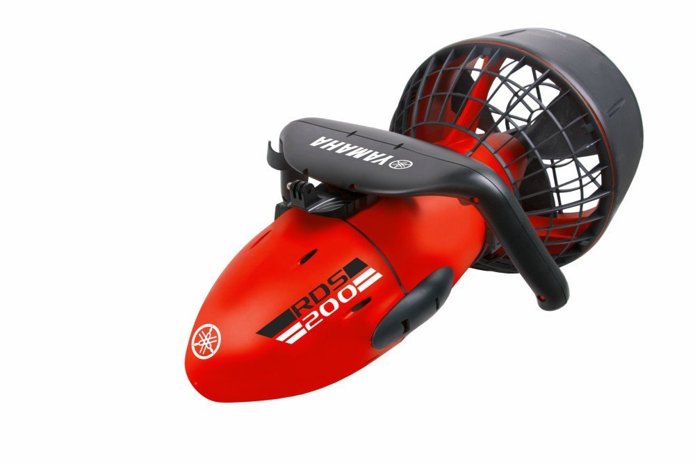 2. Yamaha RDS200 Seascooter with Camera Mount Recreational Dive Series Underwater Scooter