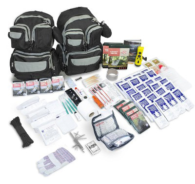 Urban Survival Bug Out Bag, Choose from 2 Or 4 Person Emergency Disaster Kit, 72-Hour