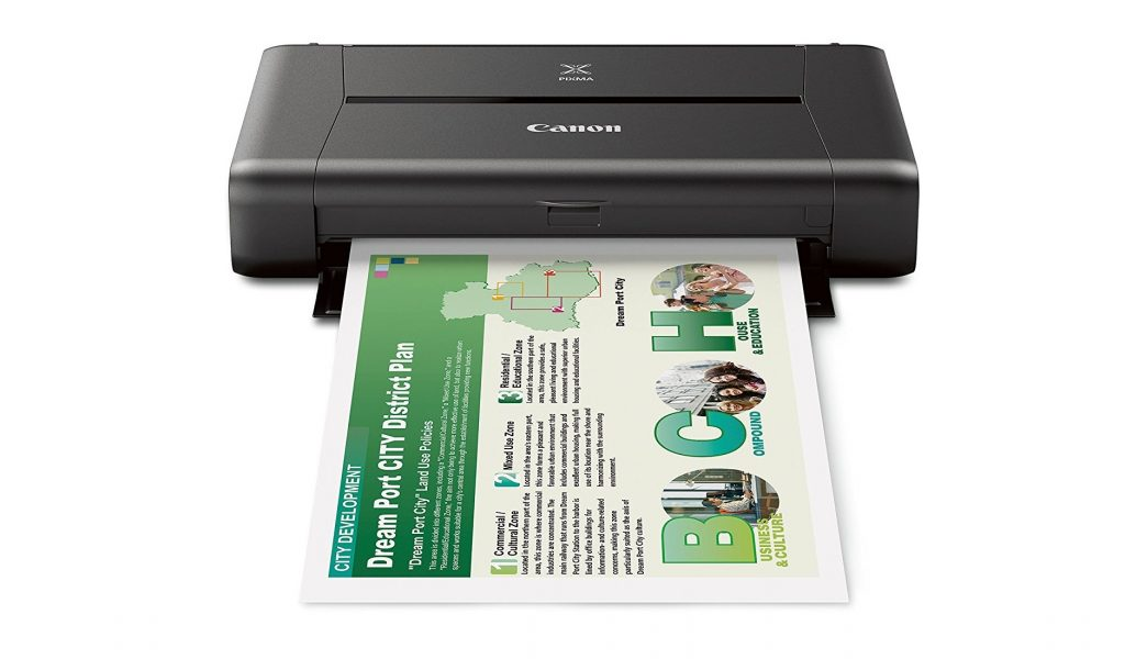 3. CANON PIXMA iP110 Wireless Mobile Printer With Airprint(TM) And Cloud Compatible