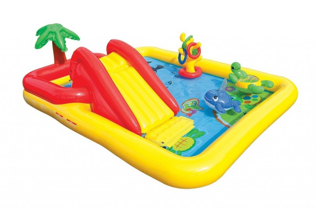 3. Intex Ocean Inflatable Play Center