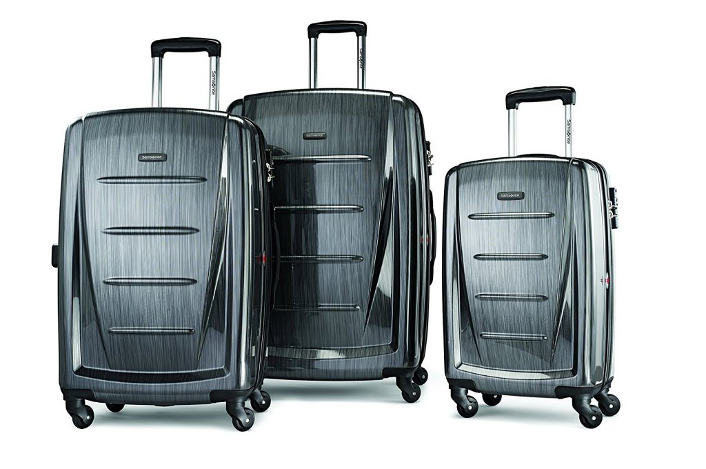 3. Samsonite Winfield 2 3PC Hardside