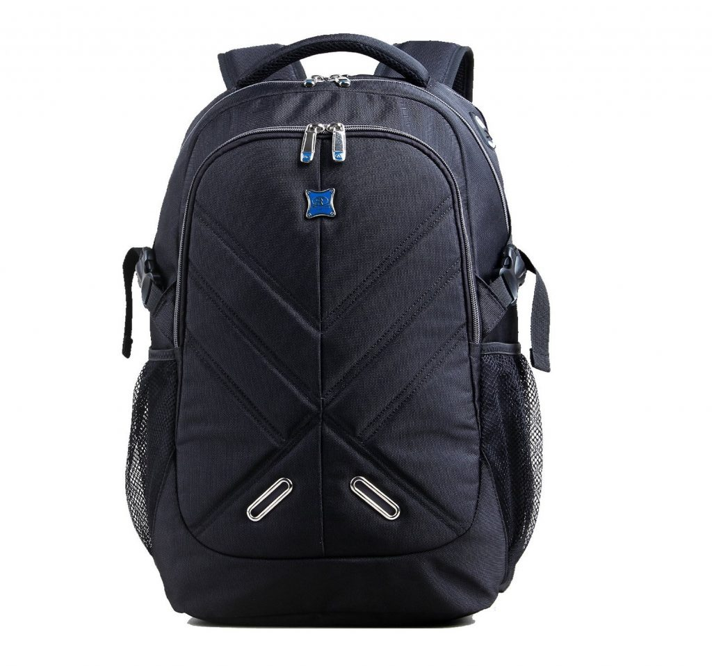 4. 17.3 inch Laptop Backpack with Rain Cover Airbag Shockproof Water Resistant Travel Bag Work School College
