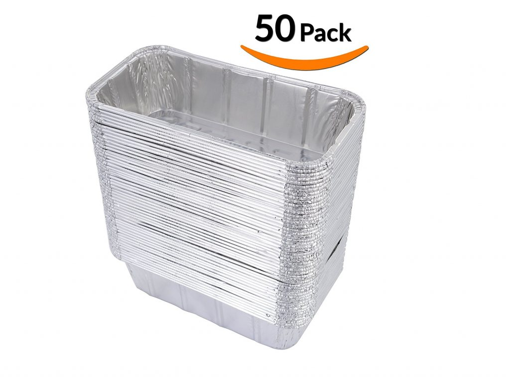 4. DOBI Loaf Pans - Disposable Aluminum Foil 2Lb Bread Tins, Standard