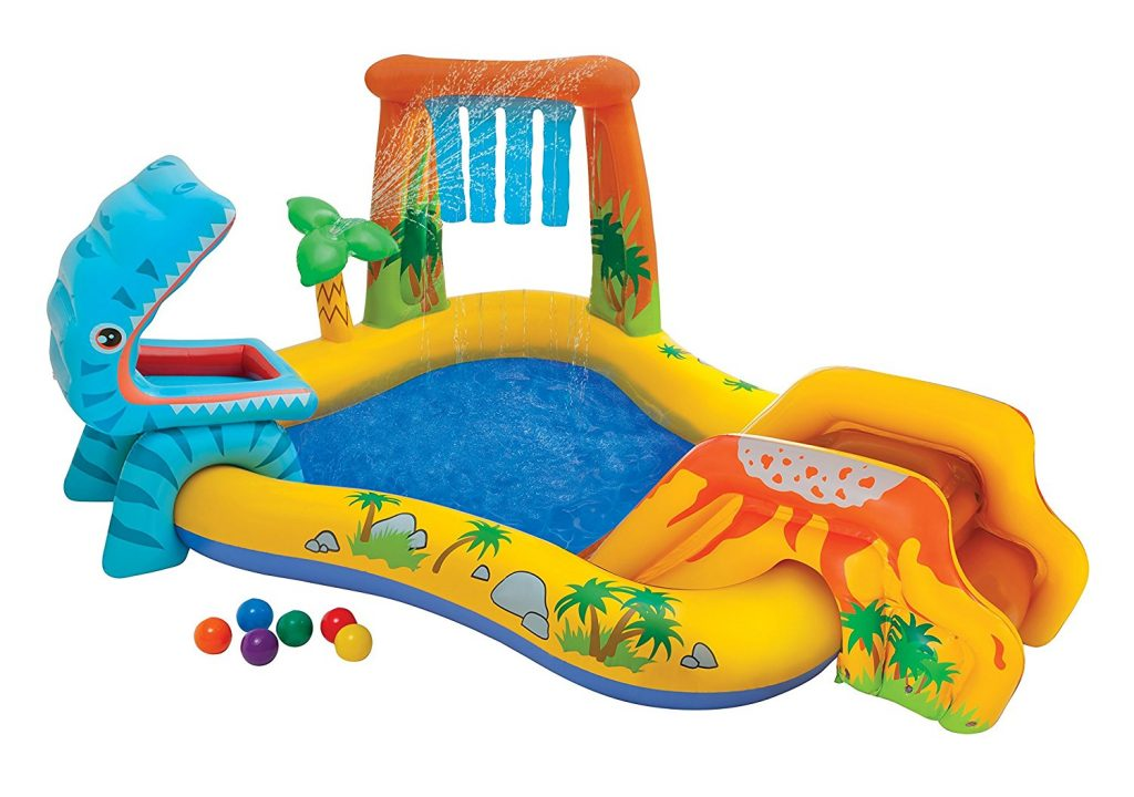 4. Intex 57444EP Dinosaur Play Center
