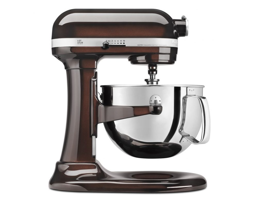 4. KitchenAid KP26M1XES 6 Qt. Professional 600 Series Bowl-Lift Stand Mixer - Espresso
