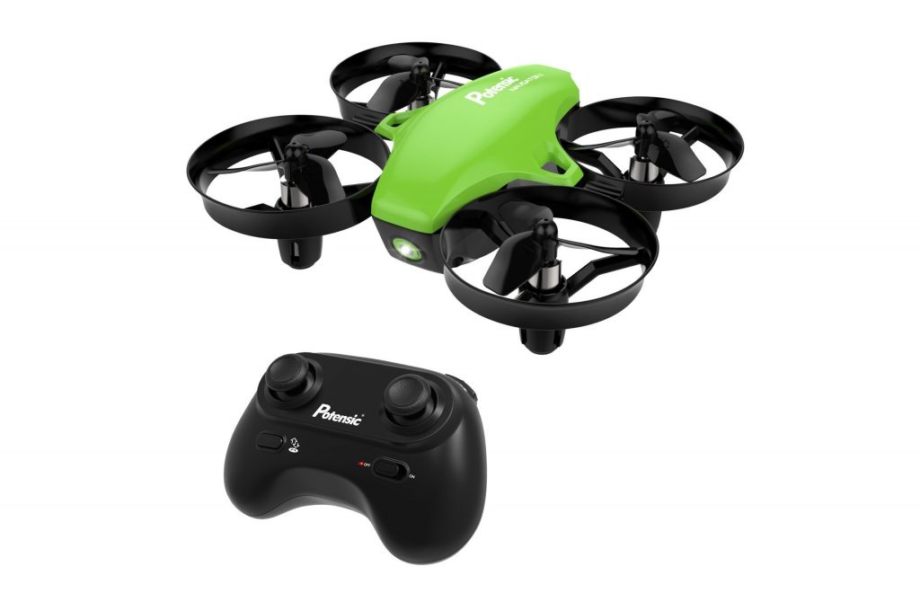 4. Potensic A20 Mini Drone RC Quadcopter 2.4G 6 Axis With Altitude Hold Function
