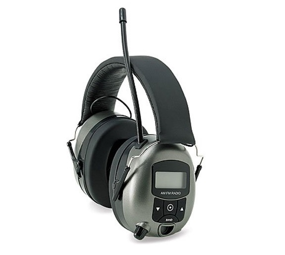 4. Safety Works 10121816 Digital Radio Ear Muffs