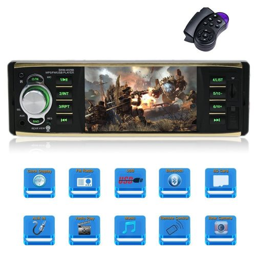 4.1 Inch single Din Car Stereo with Bluetooth