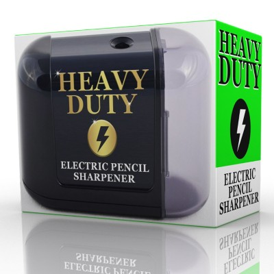 Artist Choice Electric-Pencil-Sharpener Battery Powered Heavy Duty Helical Blade
