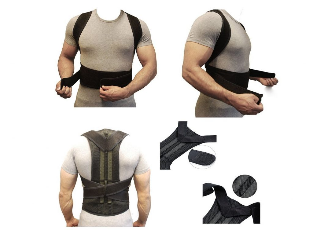 5. Back Brace Posture Corrector Fully Adjustable Back Support Belts Improves Posture and Provides Lumbar Support For Lower and Upper Back Pain Men and Wom