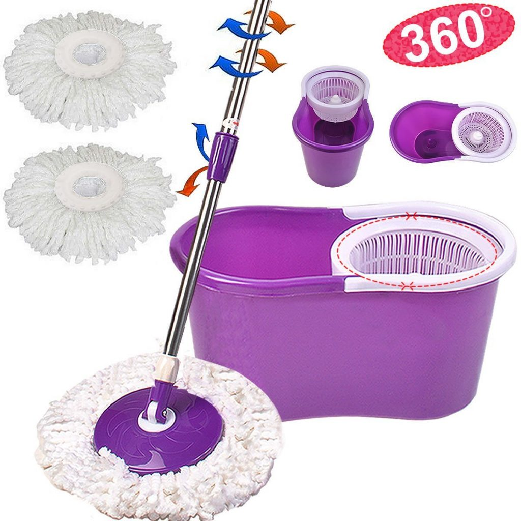 5. Goplus Microfiber Spining Magic Spin Mop