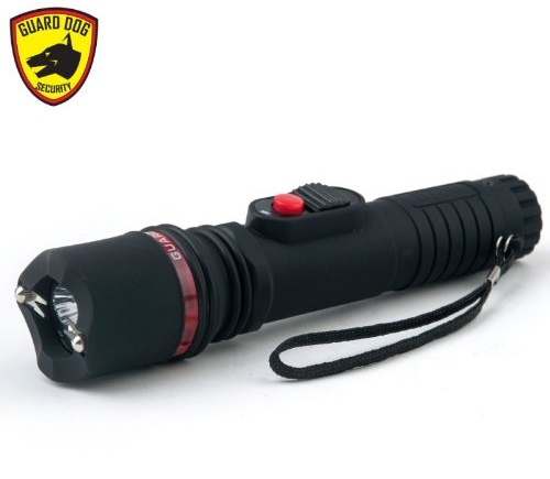 5. Guard Dog Inferno Dual Spark Stun Gun Flashlight, MAX Volts, Ultra Bright LED Bulb, Rechargeable