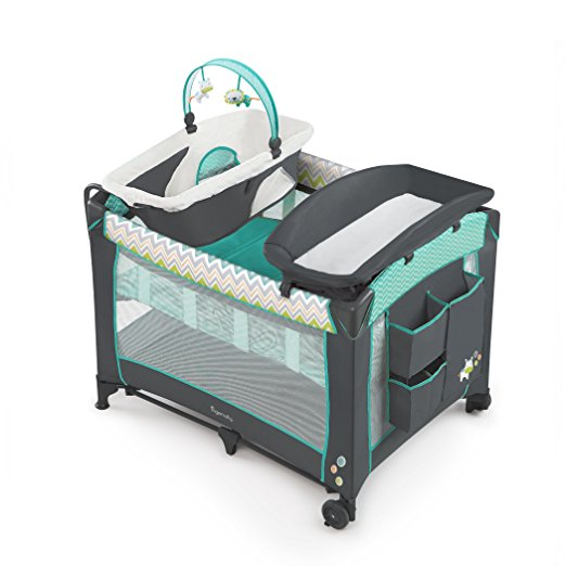 5. Ingenuity Smart and Simple Playard- Ridgedale
